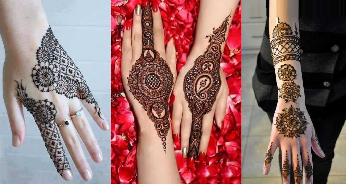 10 Breathtaking Back Hand Mehndi Designs 20172018