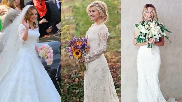 Celebrity Wedding Dresses 2017 Fashion Top Inspired