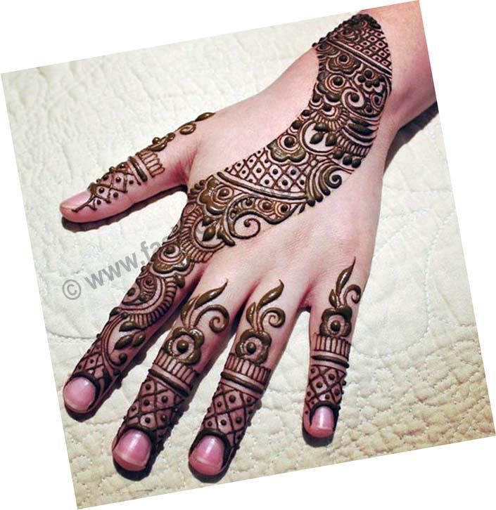 arabic henna 2017