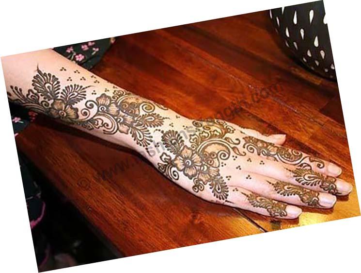 best backhand henna style
