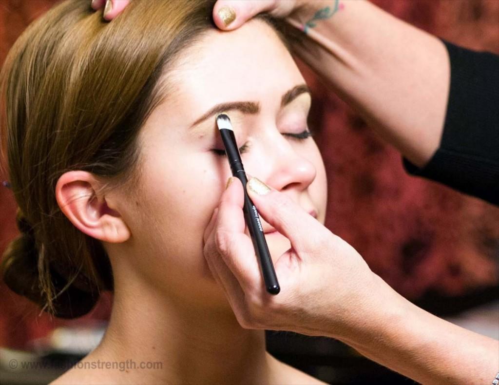 smokey eye makeup tutorial step 1