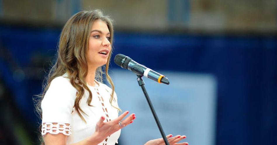 Russian State Duma Deputy Alina Kabaeva