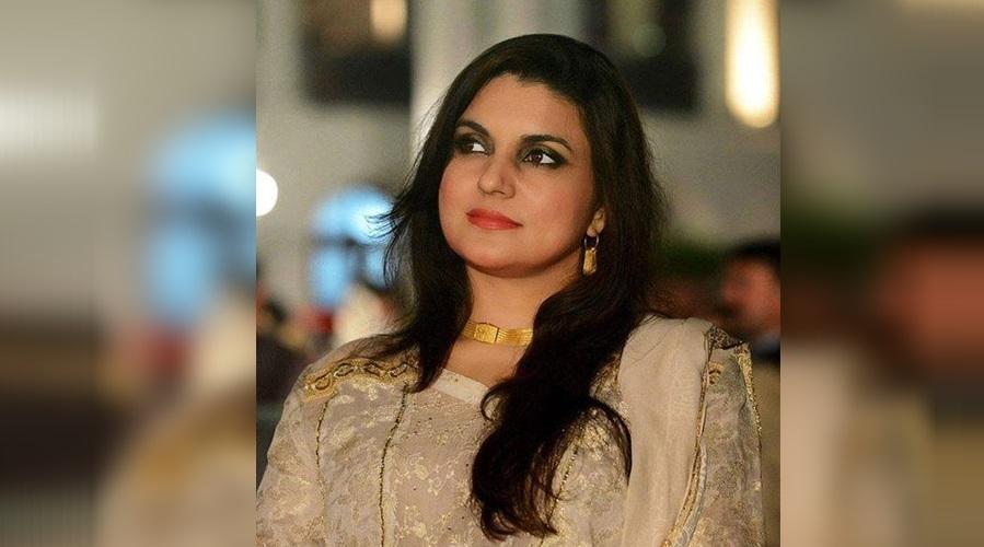 Elegant Pakistani Politician Kashmala Tariq