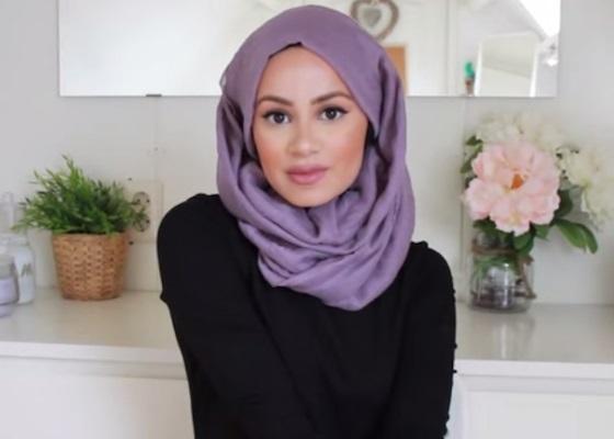 Arabian style hijab