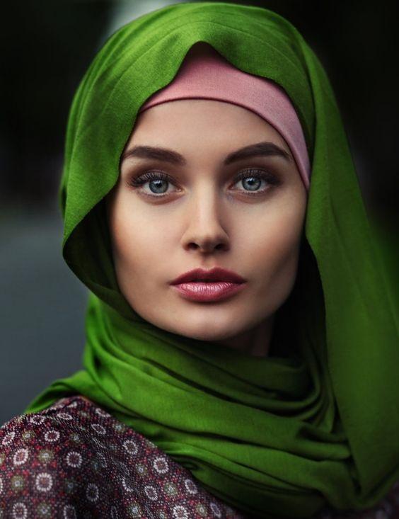 Double wrap style hijab