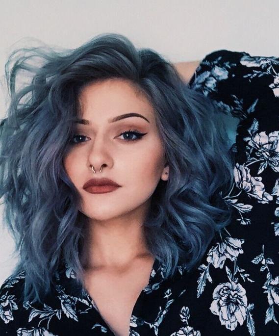 Aurora style galaxy hair